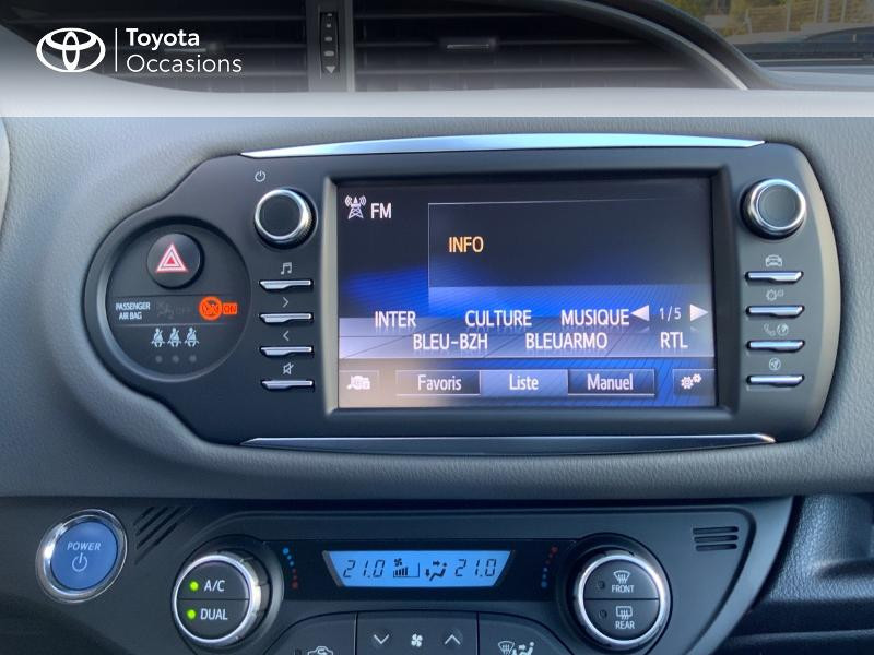 Photo 18 de l'offre de TOYOTA Yaris 100h France 5p à 11980€ chez Altis - Toyota Auray