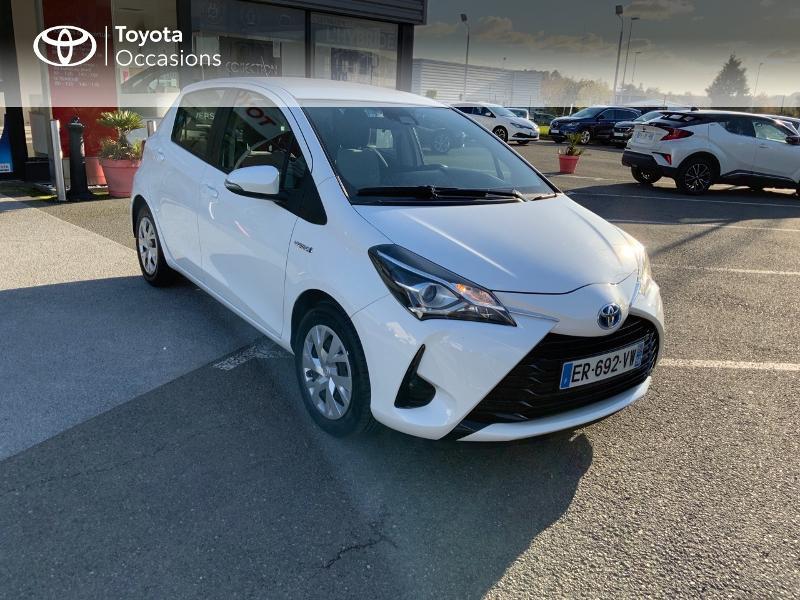Photo 17 de l'offre de TOYOTA Yaris 100h France 5p à 11980€ chez Altis - Toyota Auray