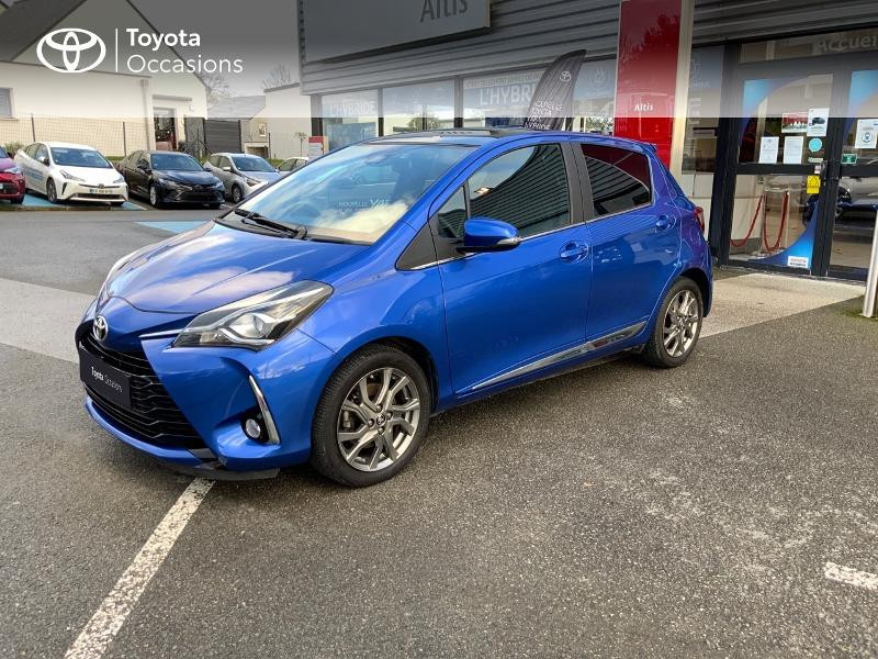 Photo 25 de l'offre de TOYOTA Yaris 110 VVT-i Chic 5p à 10990€ chez Altis - Toyota Auray