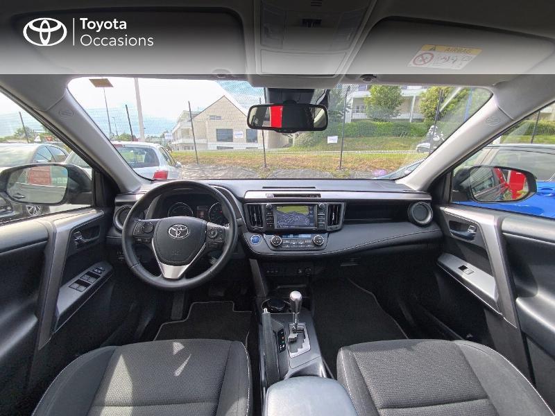 Photo 8 de l'offre de TOYOTA RAV4 197 Hybride Design Business 2WD CVT à 22990€ chez Altis - Toyota Auray