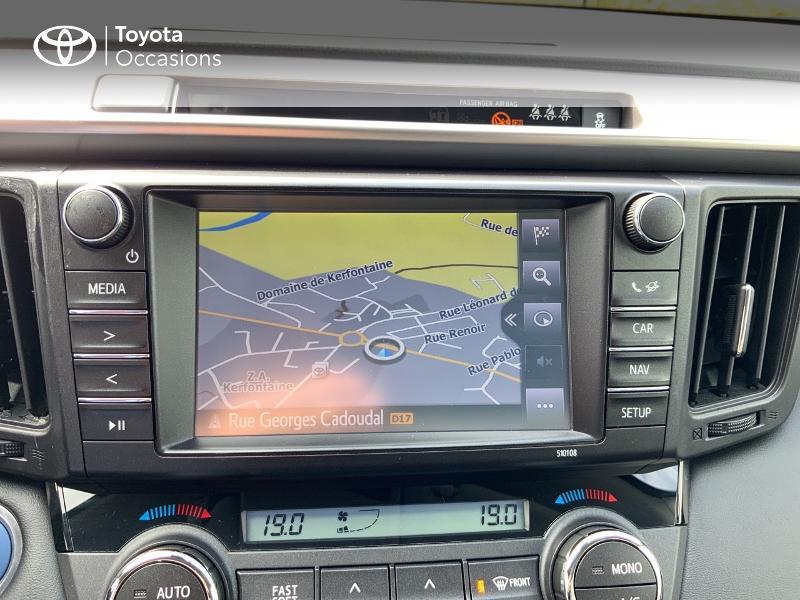 Photo 15 de l'offre de TOYOTA RAV4 197 Hybride Design Business 2WD CVT à 22990€ chez Altis - Toyota Auray