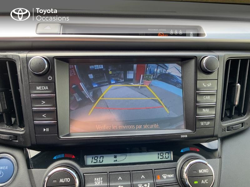 Photo 24 de l'offre de TOYOTA RAV4 197 Hybride Design Business 2WD CVT à 22990€ chez Altis - Toyota Auray