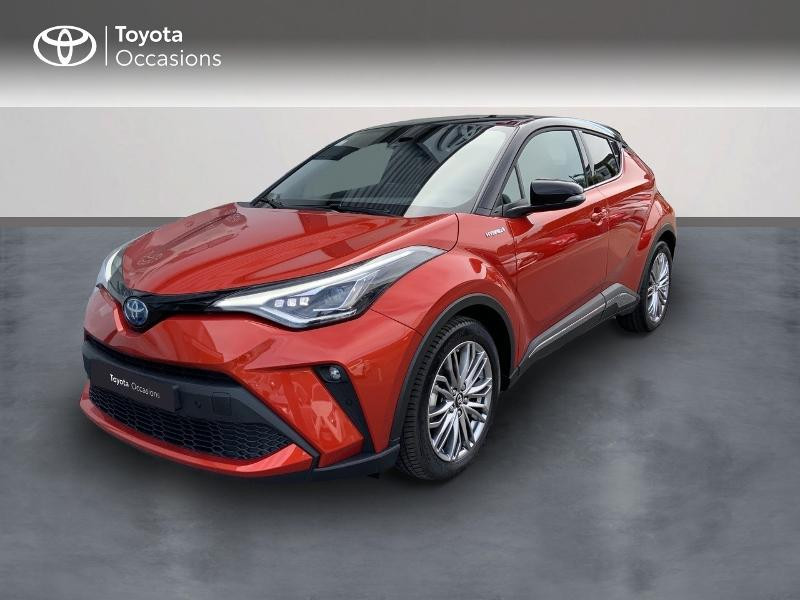 Toyota C-HR 184h Distinctive 2WD E-CVT MY20 Hybride BITON TOPAZE Occasion à vendre