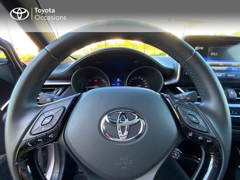 Photo 13 de l'offre de TOYOTA C-HR 122h Edition 2WD E-CVT RC18 à 21890€ chez Altis - Toyota Auray