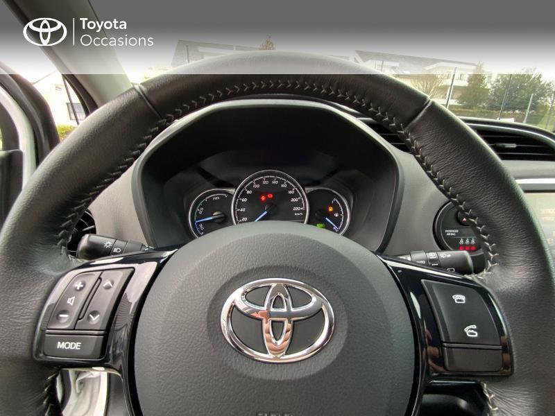 Photo 13 de l'offre de TOYOTA Yaris 100h France 5p à 11990€ chez Altis - Toyota Auray