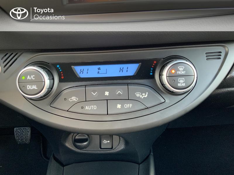 Photo 22 de l'offre de TOYOTA Yaris 110 VVT-i Chic 5p à 10990€ chez Altis - Toyota Auray