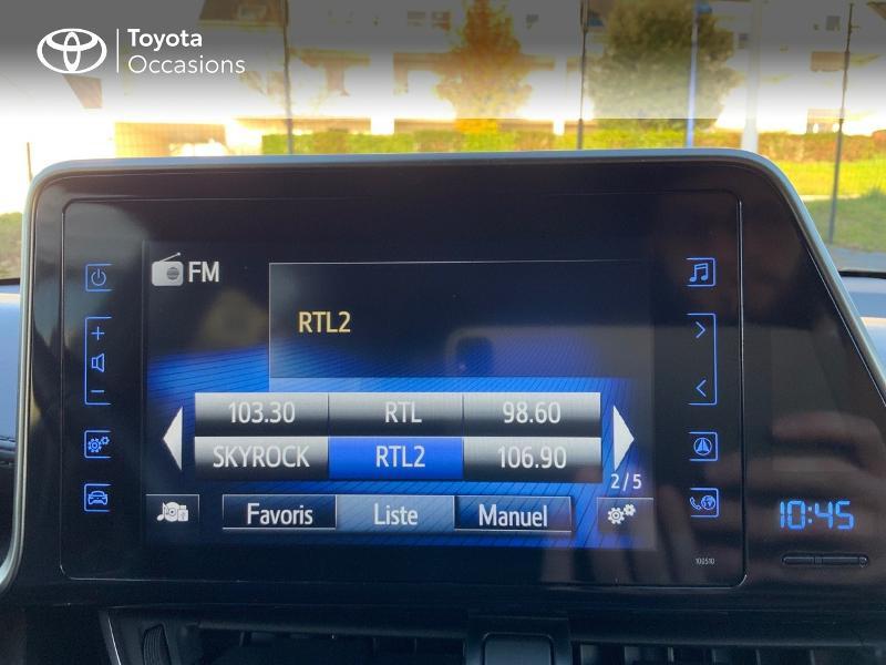 Photo 15 de l'offre de TOYOTA C-HR 122h Edition 2WD E-CVT RC18 à 21890€ chez Altis - Toyota Auray