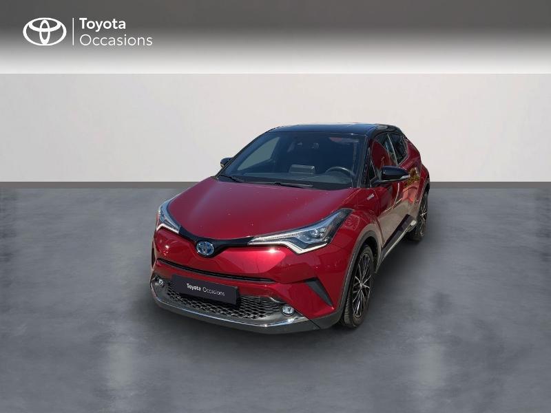 Toyota C-HR 122h Collection 2WD E-CVT RC18 Hybride BITON ROUGE Occasion à vendre