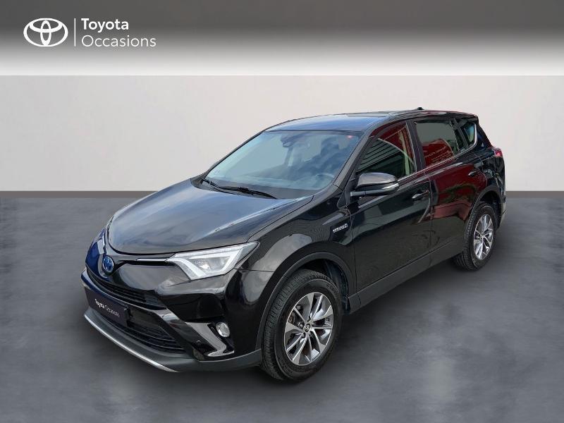 Photo 1 de l'offre de TOYOTA RAV4 197 Hybride Design Business 2WD CVT à 22990€ chez Altis - Toyota Auray