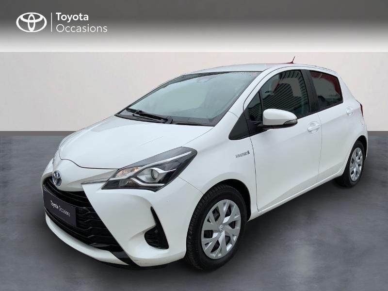 Toyota Yaris 100h France 5p Hybride BLANC PUR Occasion à vendre
