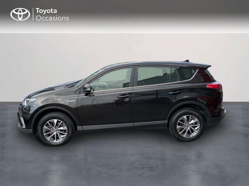 Photo 3 de l'offre de TOYOTA RAV4 197 Hybride Design Business 2WD CVT à 22990€ chez Altis - Toyota Auray