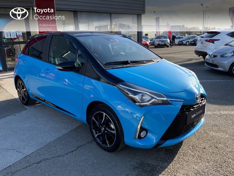 Photo 19 de l'offre de TOYOTA Yaris 100h Cyan Edition 5p RC18 à 15990€ chez Altis - Toyota Auray