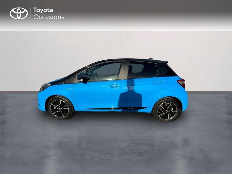 Photo 3 de l'offre de TOYOTA Yaris 100h Cyan Edition 5p RC18 à 15990€ chez Altis - Toyota Auray