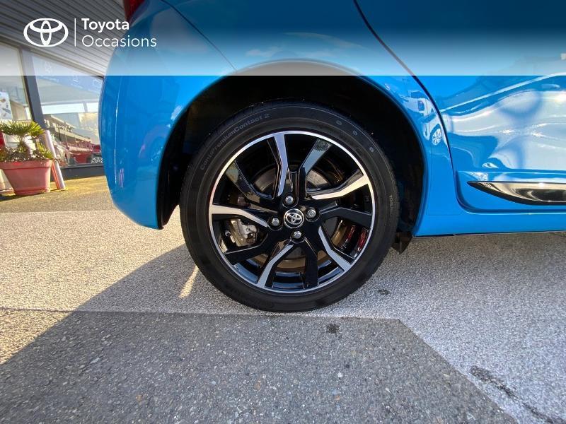 Photo 16 de l'offre de TOYOTA Yaris 100h Cyan Edition 5p RC18 à 15990€ chez Altis - Toyota Auray