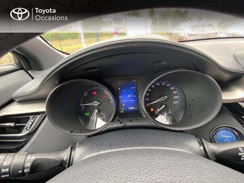 Photo 14 de l'offre de TOYOTA C-HR 122h Edition 2WD E-CVT RC18 à 21690€ chez Altis - Toyota Auray