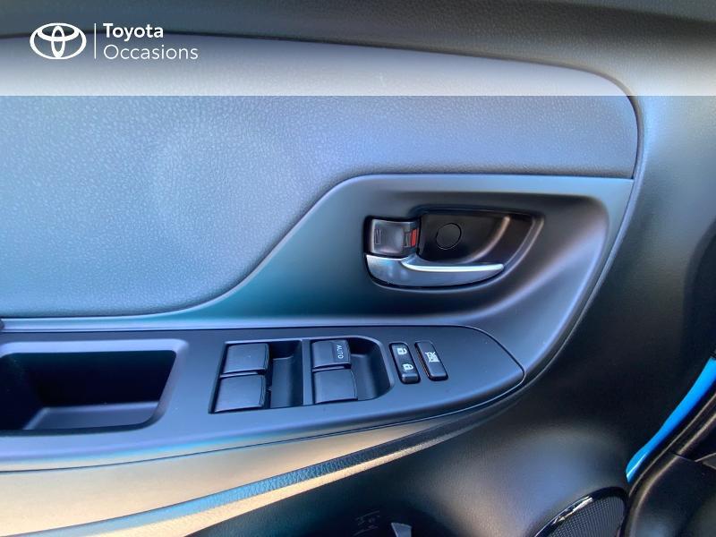 Photo 21 de l'offre de TOYOTA Yaris 100h Cyan Edition 5p RC18 à 15990€ chez Altis - Toyota Auray