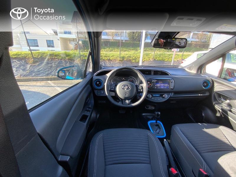 Photo 9 de l'offre de TOYOTA Yaris 100h Cyan Edition 5p RC18 à 15990€ chez Altis - Toyota Auray