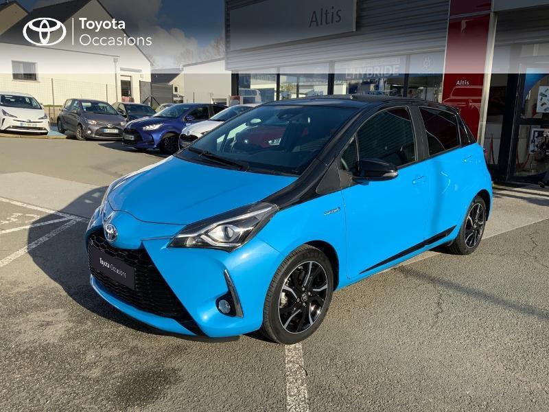 Photo 25 de l'offre de TOYOTA Yaris 100h Cyan Edition 5p RC18 à 15990€ chez Altis - Toyota Auray