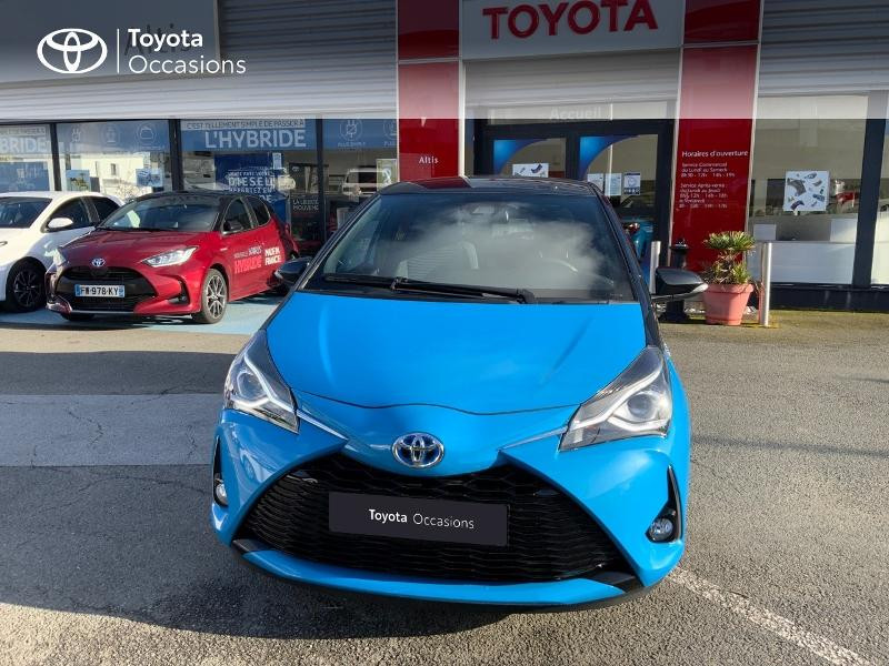 Photo 29 de l'offre de TOYOTA Yaris 100h Cyan Edition 5p RC18 à 15990€ chez Altis - Toyota Auray