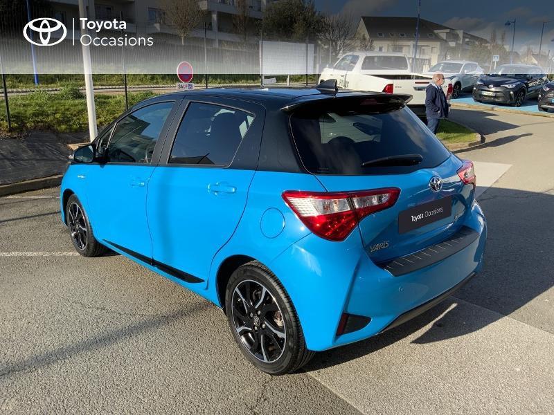 Photo 26 de l'offre de TOYOTA Yaris 100h Cyan Edition 5p RC18 à 15990€ chez Altis - Toyota Auray