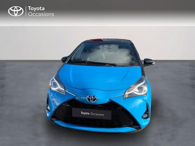 Photo 5 de l'offre de TOYOTA Yaris 100h Cyan Edition 5p RC18 à 15990€ chez Altis - Toyota Auray