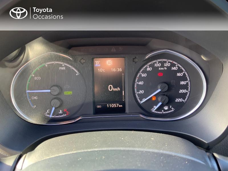 Photo 14 de l'offre de TOYOTA Yaris 100h Cyan Edition 5p RC18 à 15990€ chez Altis - Toyota Auray