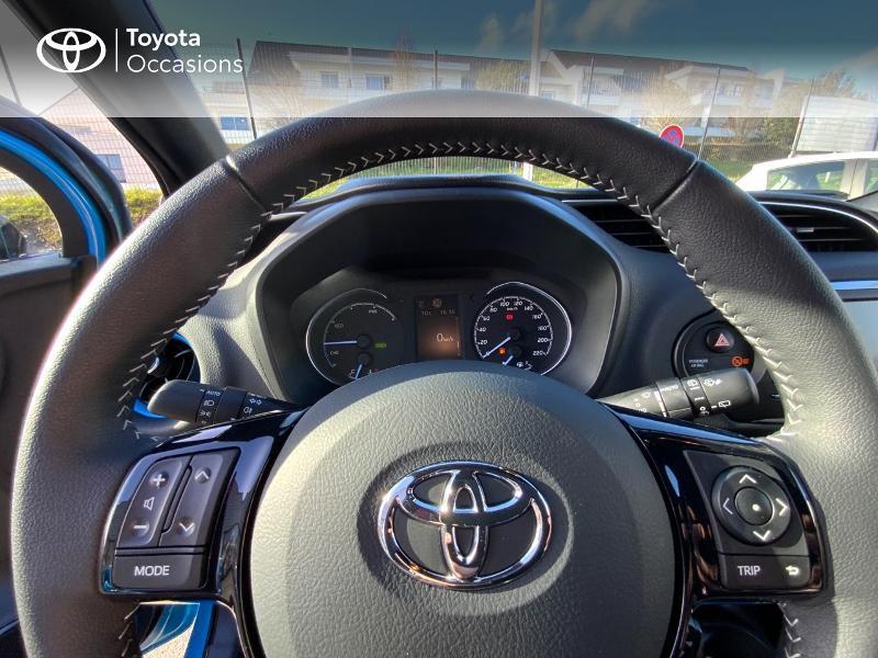 Photo 13 de l'offre de TOYOTA Yaris 100h Cyan Edition 5p RC18 à 15990€ chez Altis - Toyota Auray