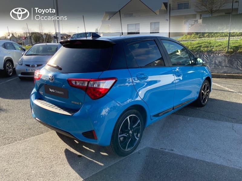Photo 18 de l'offre de TOYOTA Yaris 100h Cyan Edition 5p RC18 à 15990€ chez Altis - Toyota Auray