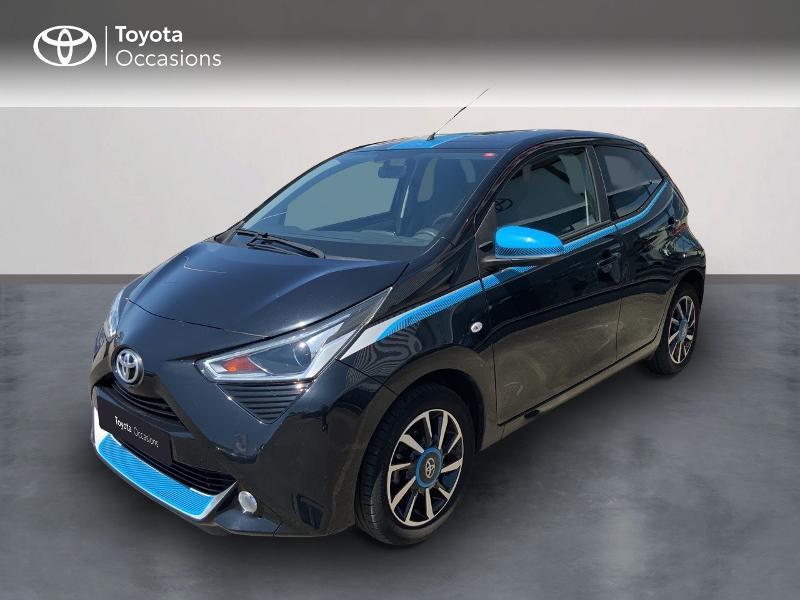 Toyota Aygo 1.0 VVT-i 72ch x-trend 5p Essence NOIR Occasion à vendre