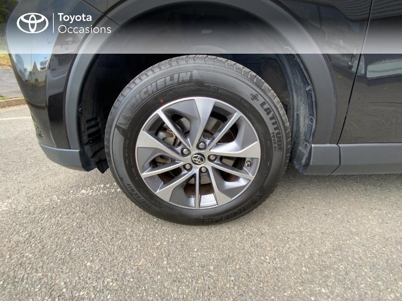 Photo 16 de l'offre de TOYOTA RAV4 197 Hybride Design Business 2WD CVT à 22990€ chez Altis - Toyota Auray