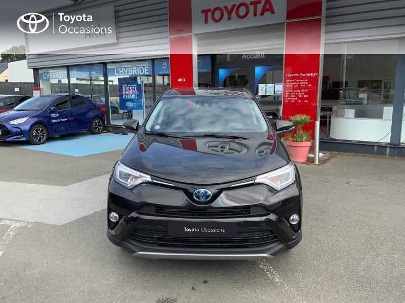 Photo 29 de l'offre de TOYOTA RAV4 197 Hybride Design Business 2WD CVT à 22990€ chez Altis - Toyota Auray