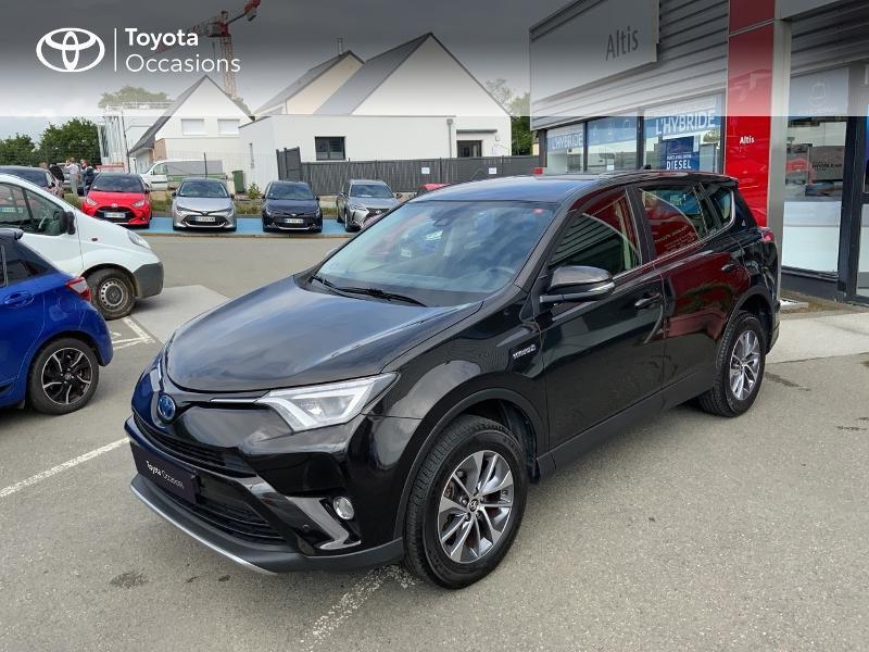 Photo 25 de l'offre de TOYOTA RAV4 197 Hybride Design Business 2WD CVT à 22990€ chez Altis - Toyota Auray
