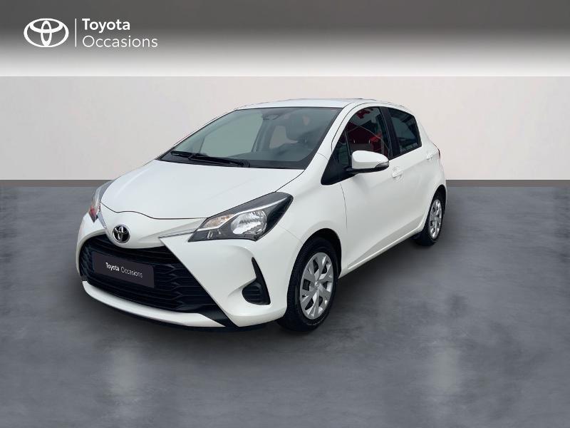 Toyota Yaris 70 VVT-i France 5p MY19 Essence BLANC Occasion à vendre