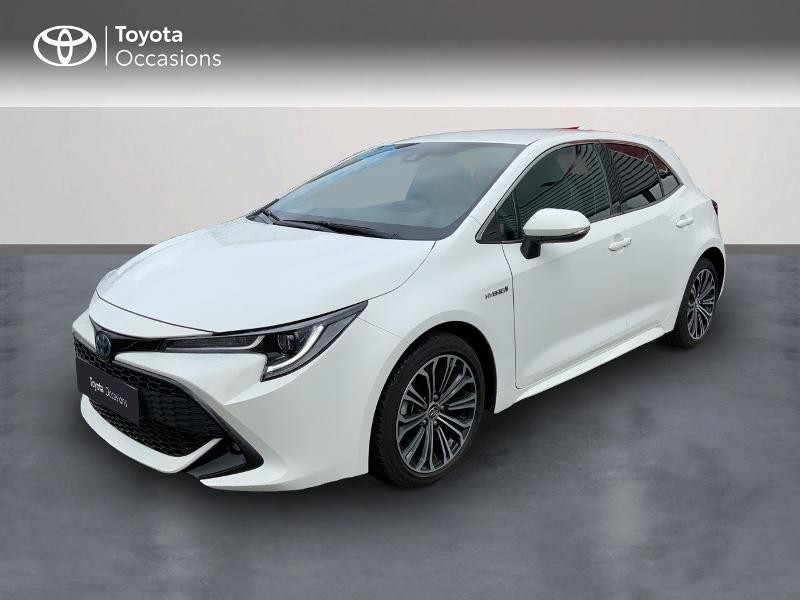 Toyota Corolla 122h Design MY20 Hybride BLANC PUR Occasion à vendre
