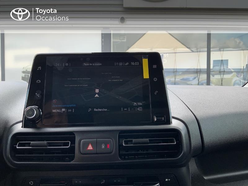 Photo 15 de l'offre de TOYOTA PROACE CITY Verso Medium 1.5 100 D-4D Executive RC21 à 28650€ chez Altis - Toyota Auray