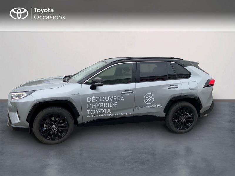 Photo 3 de l'offre de TOYOTA RAV4 Hybride 218ch Collection 2WD MY21 à 43090€ chez Altis - Toyota Auray