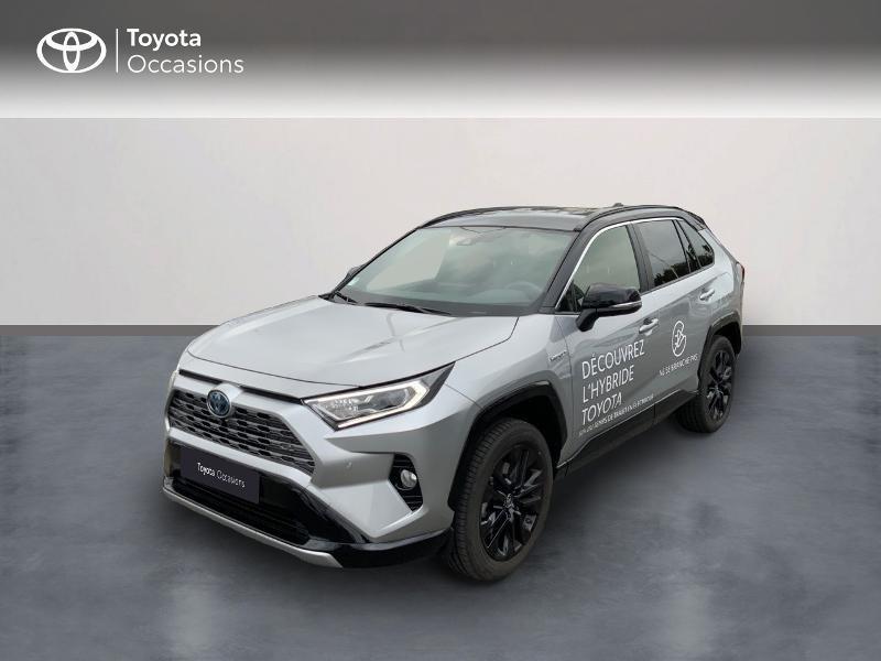 Toyota RAV4 Hybride 218ch Collection 2WD MY21 Hybride GRIS ACIER Occasion à vendre