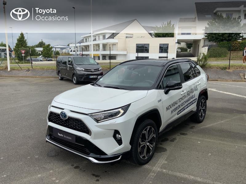 Photo 25 de l'offre de TOYOTA RAV4 Hybride Rechargeable 306ch Collection AWD à 58790€ chez Altis - Toyota Auray