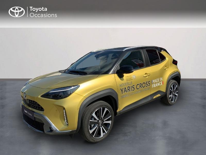 Toyota Yaris Cross 116h Première AWD-i Hybride OR ET TOIT NOIR Occasion à vendre