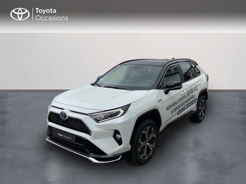 Photo 1 de l'offre de TOYOTA RAV4 Hybride Rechargeable 306ch Collection AWD à 58790€ chez Altis - Toyota Auray