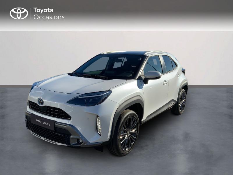 Toyota Yaris Cross 116h Trail Hybride BLANC LUNAIRE NACRE Occasion à vendre