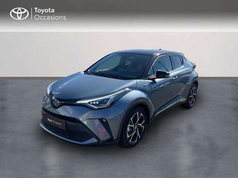 Toyota C-HR 184h Collection 2WD E-CVT MY20 Hybride BITON GRIS CELESTINE Occasion à vendre