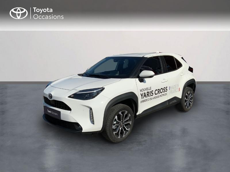 Toyota Yaris Cross 116h Design Hybride BLANC Occasion à vendre