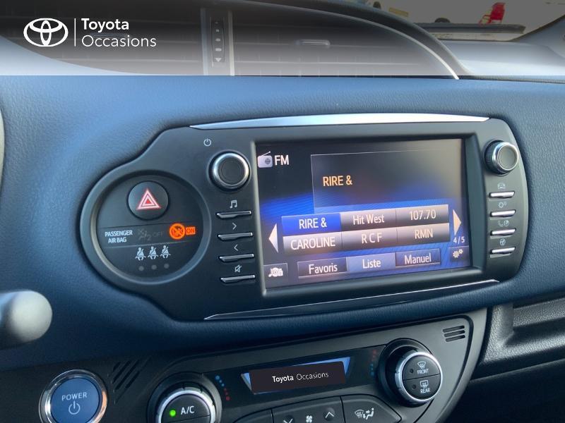 Photo 15 de l'offre de TOYOTA Yaris 100h Collection 5p RC18 à 14880€ chez Altis - Toyota Auray