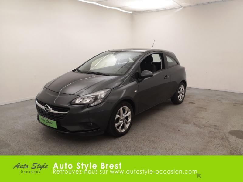 Opel Corsa 1.4 Turbo 100ch Play Start/Stop 3p Essence Gris Quantum Occasion à vendre