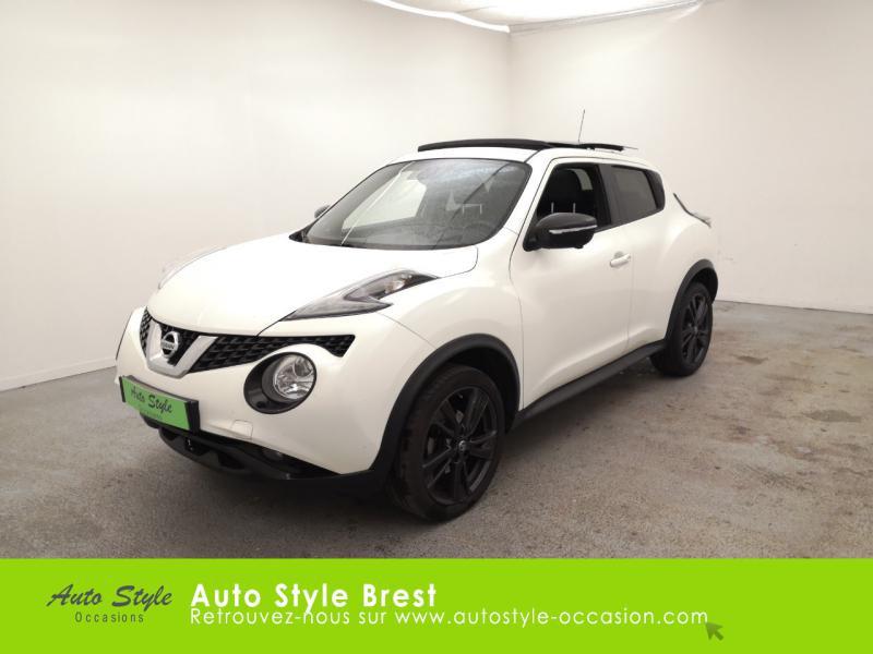 Nissan Juke 1.6 117ch Tekna Xtronic Essence Blanc Lunaire Occasion à vendre