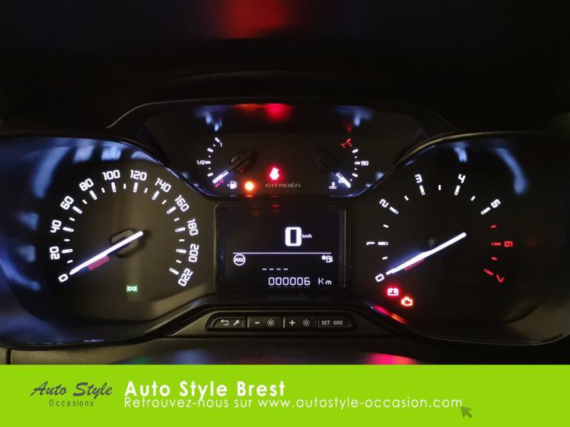 Photo 11 de l'offre de CITROEN C3 PureTech 110ch Feel S&S E6.d 6cv à 14990€ chez Autostyle Brest