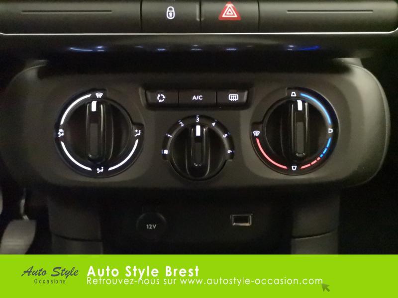 Photo 7 de l'offre de CITROEN C3 PureTech 110ch Feel S&S E6.d 6cv à 14990€ chez Autostyle Brest
