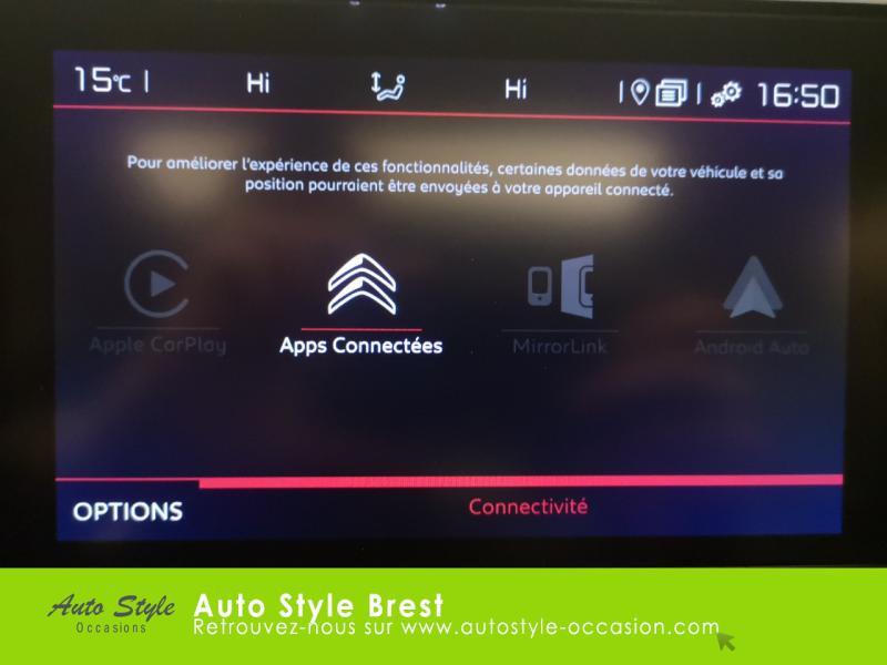 Photo 6 de l'offre de CITROEN C5 Aircross BlueHDi 180ch S&S Shine EAT8 à 28990€ chez Autostyle Brest