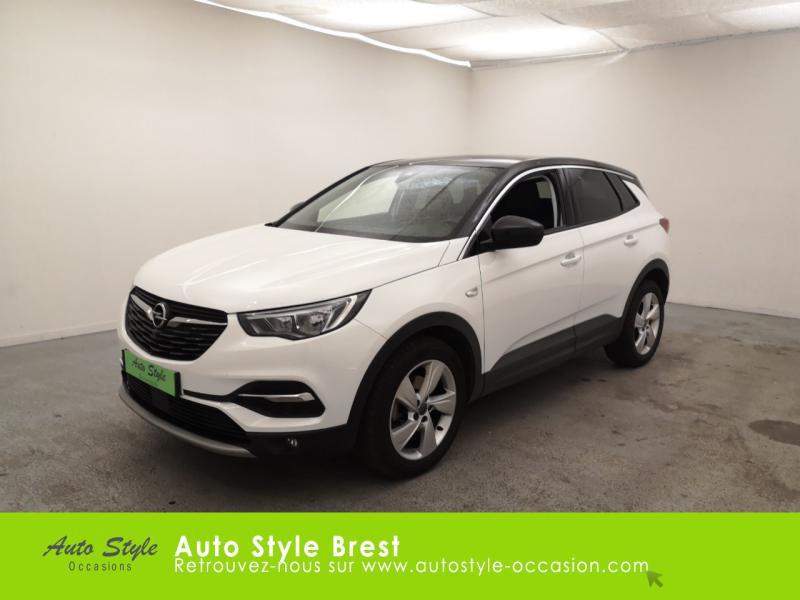Opel Grandland X 1.6 D 120ch Innovation BVA Diesel Blanc Jade Occasion à vendre